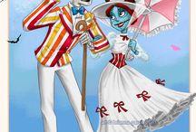 Creepy but sweet love❤️ / Jack and sally