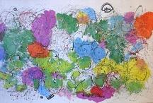 Huge paintings / Regia Marinho, Brazilian artist paintings