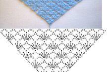 blauwe omslagdoek