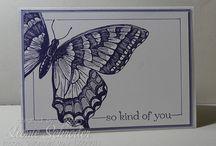 Stampin' Up! Butterflies
