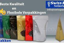 Stazakken / Swisspac is een van de voornaamste spelers in het produceren en distribueren van standup pouches, ook wel stazak genoemd.
