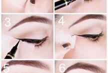 Mettre de l'eyeliner