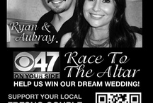 Our Founder's Wedding / He won the Race To The Altar contest by getting votes through a super social media marketing campaign!