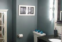 Casas de banho pintadas