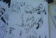 inks / arte final inks comissions manga comics