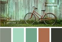 Color Palettes / Colors I like