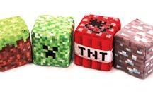 Minecraft Blocks - Cute, plush for Christmas / Minecraft Blocks - Cute, plush for Christmas