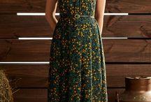 vestidos casuais longos