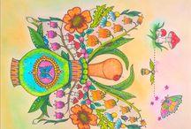 My colouring - Magical Delights/Čarovné lahodnosti / Colouring book: Čarovné lahodnosti / Magical Delights, Klara Markova