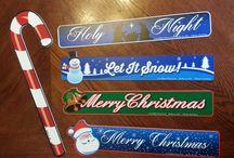 Christmas Holiday WiperTags