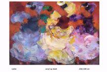 Schilderij / Schilderijen van de deelnemers aan www.onlinekunstenaars.nl
