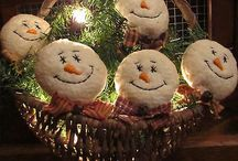 xmas snowmen