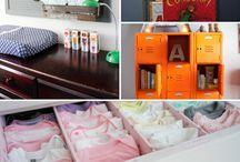 DIY Baby Closet