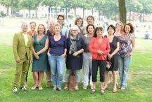 DuizendDoDo's profielshoot op het Museumplein / op 24 augustus 2013 kwam het DuizendDoDo's team voor het eerst bij elkaar, voor een profielshoot op het Museumplein in Amsterdam