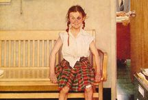 Norman Rockwell / by Hal Brower
