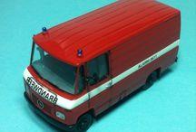Brandweer bomberos holandeses 1/87 / Bomberos holanda 1/87