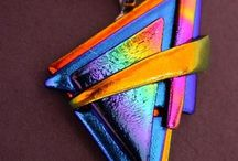 Dichroic Glass and other Beauties