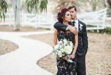 Modern Black Wedding