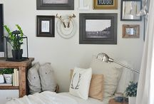 Reading Nook / Decor ideas for our reading nook
