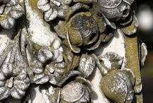 Roses / Carving, stone , wood, metal