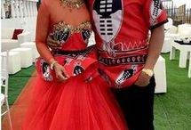 proudly modern swazi couple