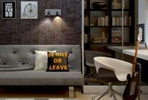 Office spaces & Decor ideas / Pin board to gather up ideas for our office revamp
