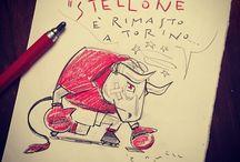 Matita granata / Vignette dell'universo granata di Max Ramezzana