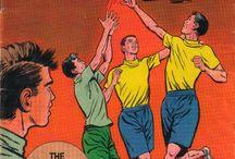 Basketball -- Comics / by GCD Grand Comics Database