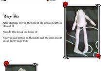 Dolls - hand made