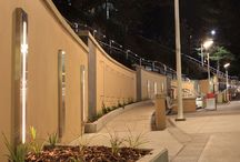 North Beach Pavilion Precinct – Wollongong / The stunning renovations to North Beach Pavilion Precinct in Wollongong feature Austube luminaires which were designed and manufactured specifically for this beachfront site. The lighting design brief required the luminaires to be decorative, yet robust enough to withstand the harsh coastal environment.