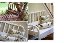 Home Deco_Bench/Stool Ideas