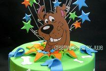 scoby doo cake