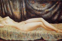 MOÏSE KISLING - DUEÑO DEL DESNUDO FEMENINO / Moisés Kisling, 1891 en Cracovia (Polonia) falleció en Sanary-sur-Mer el 29 de abril de 1953 es un pintor franco-polaco.  Su estilo en los paisajes primero es influido por Derain y Cézanne. Fue el dueño del desnudo femenino y sus retratos le valieron una gran fama. Su pintura se enmarca dentro del impresionismo, pero a él no le gustaba que lo encasillaran, se consideraba libre en sus composiciones.  Encontramos particularmente sus obras en el museo del Petit Palais en Ginebra, Suiza.