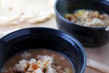 Suppen und Eintopf Rezepte / Soups & Stews / Heiß und lecker und alles aus einem Topf!  Recipes made in one pot!
