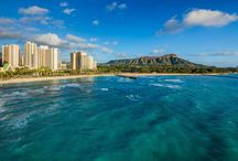HAWAII - Waikiki Beach Marriott Resort & Spa / Find yourself on the edge of beautiful Waikiki Beach, when you stay the luxurious Waikiki Beach Marriott Resort & Spa! Set just steps away from the ocean and surrounded by boutique shops and iconic landmarks, this is the perfect place to observe and enjoy Waikiki!