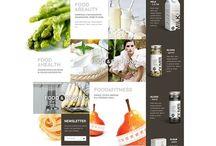 Web & Flat / Flat designs in web editorial