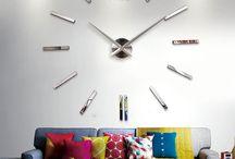 Trouvailles Pinterest: Horloges