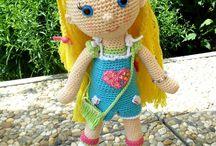 Crochet and knitting from Yvett