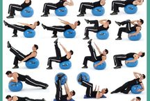 Ab workout on ball