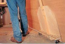 plywood cart