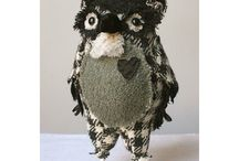 Hand made creatures / A selection of hand crafted monsters and creatures, some loveable, some downright scary