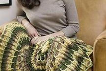 Crochet - Afghans, Lapghans, etc. / by Linda Sanders