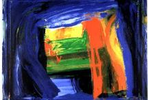 Howard Hodgkin British Paniter / Uses the frame in his work