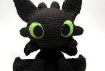 игрушки crochet