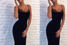 Платье - бархат