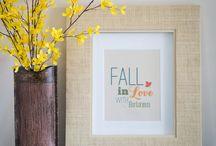 Fall Decor / Fall