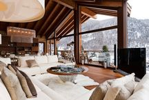 Dream Ski House / cozy combination of rustic & modern cabins / by Christie Walsh