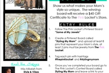 Styling My Mom Contest / This Mother's Day you can style your mom.  Show us how and you could win $40 GC to our #Etsy shop