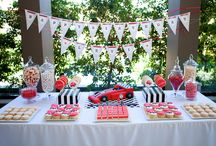 party food layout ideas