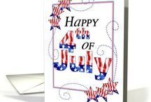 4th of July - God Bless America / Happy Birthday to America!  Up with the red, the white, the blue - up with stars and stripes, old glory.  A time to celebrate the freedom we enjoy every day in the good old USA because of the brave that fight to protect those rights and way of life for us each day.  Find all things patriotic including greeting cards to celebrate Independence  Day on July 4th!